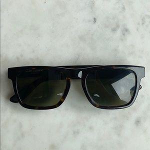Saint Laurent so m13 sunglasses Havana